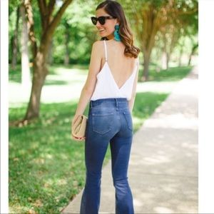 Splendid High Waist Flared Jeans